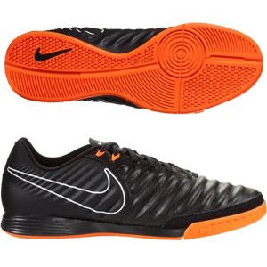 Nike Tiempo LegendX VII Academy IC - Black/Total Orange Indoor AH7244-080