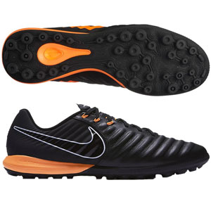 Nike TiempoX Lunar Legend VII Pro TF - Black/Total Orange Turf AH7249-080