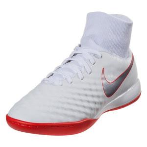 Nike Magista ObraX II Academy DF IC - White/Crimson Indoor AH7309-107