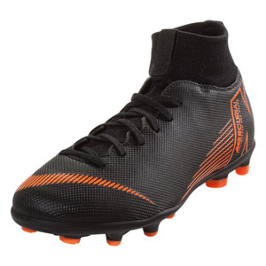 Nike Jr Mercurial Superfly VI Club MG - Black/Total Orange AH7339-081