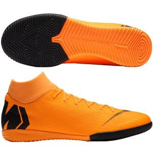 reputable site 4e8c2 edb59 Nike Mercurial SuperflyX VI Academy IC - Total Orange Black Indoor AH7369- 810