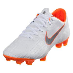 Nike Mercurial Vapor 12 Pro FG - White Total Orange AH7382-107 27dd5cd108988