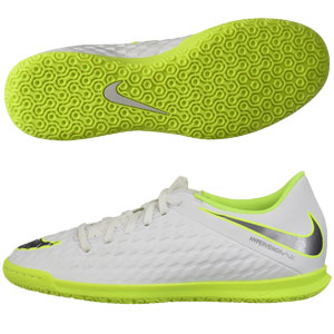 d68a3af9727 Nike Hypervenom III Club IC - White Volt Indoor AJ3808-107