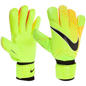 Nike Grip 3 Goalkeeper Glove - Volt/Laser Orange GS0342-715