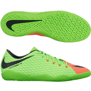 Nike Hypervenom Phelon III IC - Electric Green/Black Indoor 852563-308