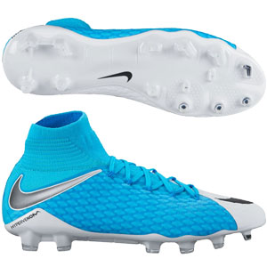 Nike Hypervenom Phatal III DF FG - Photo Blue/White 878640-104
