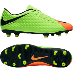 Nike Hypervenom Phade III FG - Electric Green/Black 852547-308