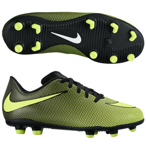 Nike Jr Bravata II FG - Black/Yellow 844442-070
