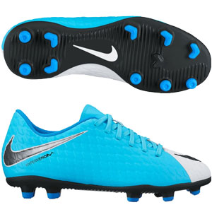Nike Junior Hypervenom Phade III FG - Photo Blue/White 852580-104