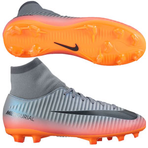 Nike Junior Mercurial Victory VI CR7 DF FG - Cool Grey/Metallic Hematite 903592-001