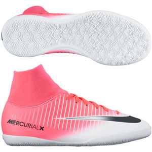 Nike Junior Mercurialx Victory VI DF IC - Racer Pink/White Indoor 903599-601
