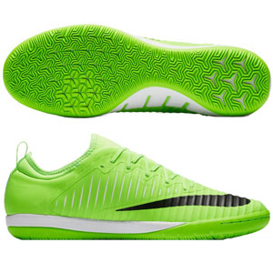 Nike MercurialX Finale II IC - Flash Lime/Black/White Indoor 831974-301