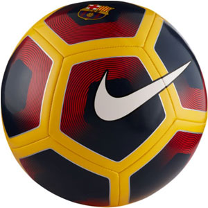 Nike Barcelona Supporter Soccer Ball - Midnight Navy/Red/Gold SC3105-410