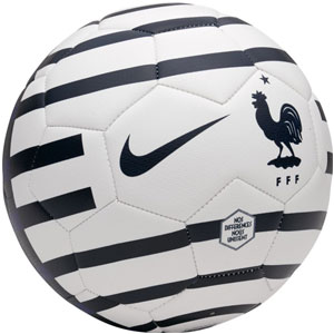 France Prestige Soccer Ball - Obsidian/Deep Royal/White SC3233-451