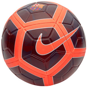 Nike Barcelona Strike Soccer Ball - Night Maroon/Hyper Crimson SC3280-681