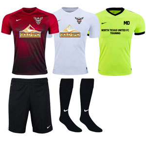 North Texas United FC Academy - Adult Required Kit TUFC-ADACKT