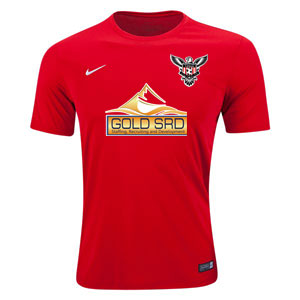 North Texas United FC - West - Nike Tiempo II Jersey - Red/White 645504-657-TUFC