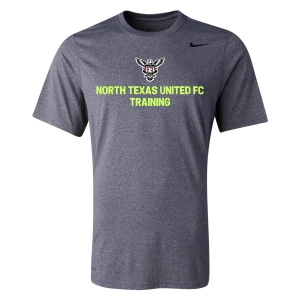 North Texas United FC - West - Nike Team Legend Top - Carbon Heather/Black 727982-091-TUFC