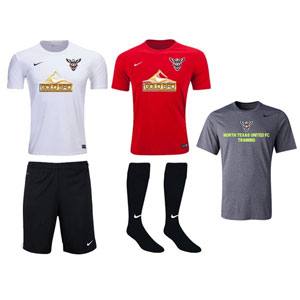 North Texas United FC - West - Youth Required Kit TUFCW-YTKT