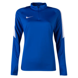Nike Women's Squad 16 3/4 Zip Jacket - Blue 725960-480