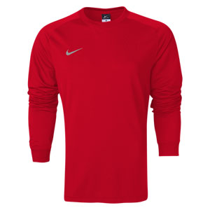 Nike Youth Long Sleeve Park Goalie II Jersey - Red 588441-657