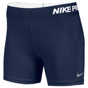 Nike Women's Pro Cool Compression Shorts - Navy 728115-419-LT