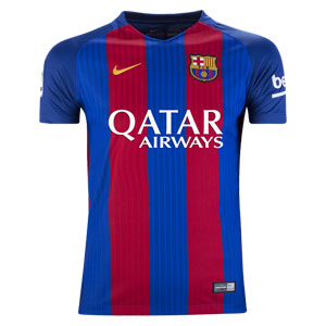 Nike Youth Barcelona Sponsor Home Jersey 2016-2017 777029-415