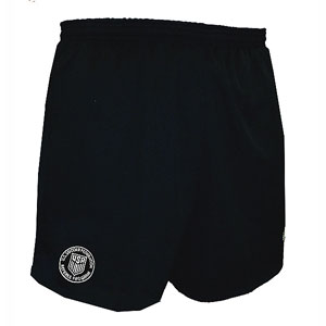 Official Sports New Logo USSF Coolwick Black Shorts 1063CL