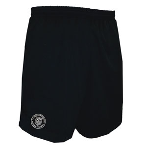 Official Sports PB Soccer League New Logo USSF Coolwick Longer Inseam Black Short 1063LCL