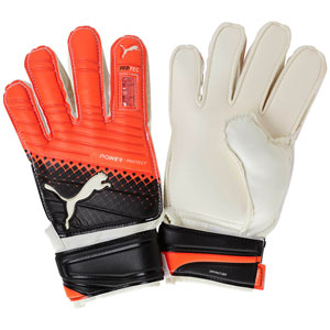 Puma evoPOWER Protect 3.3 Junior Goalkeeper Glove - Red 041221-20