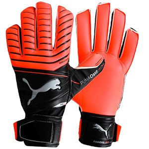 Puma One Protect 18.3 Goalkeeper Gloves - Red Blast/Puma Black 041442-22
