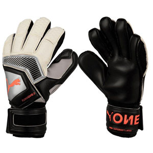 Puma One Protect 18.2 RC Goalkeeper Gloves - Black/Silver 041478-01