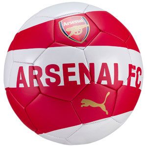 Puma Arsenal FC Supporter Fan Ball - Red/White 082815-01