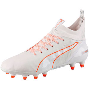 Puma EvoTouch Pro FG - Puma White/Shocking Orange 103671-04