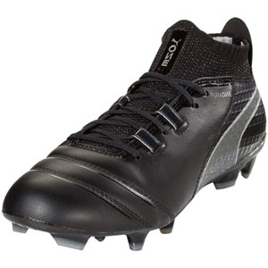 Puma One 17.1 FG - Black/Silver 104062-05