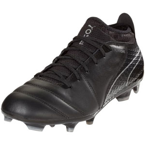 Puma One 17.2 FG - Black/Silver 104068-04