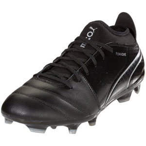 Puma One 17.3 FG - Black/Silver 104074-04