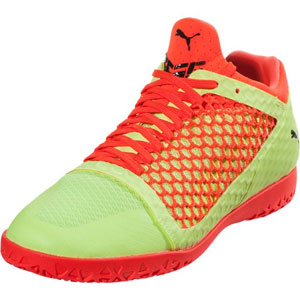 Puma 365 NetFit CT - Yellow/Red Indoor 104474-05