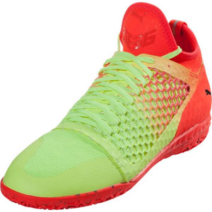 Puma 365 Ignite NetFit CT - Yellow/Red Indoor 104704-01
