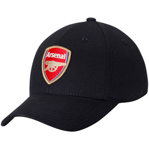 Puma Arsenal Shield Stretch Fit Flex Hat - Black PMAR20-06