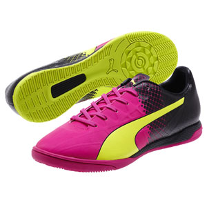 Puma EvoSpeed 4.5 Tricks IT - Pink Glo/Safety Yellow/Black Indoor 10359501