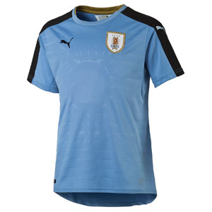 Puma Uruguay Youth Home Jersey 2016 74903801