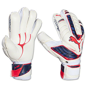 Puma evoPower Protect 1 Finger Protection Glove - White/Peacoat/Bright Plasma  040976-15