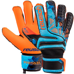 Reusch Prisma Prime S1 Evolution LTD Glove - Blue/Black/Shocking Orange 3870039