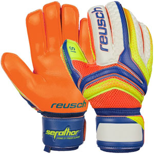 Reusch Serathor Prime S1 Glove - Dazzling Blue/Safety Yellow 3770230