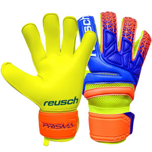 Reusch Prisma Prime S1 Evolution Glove - Safety Yellow/Ocean Blue 3870238