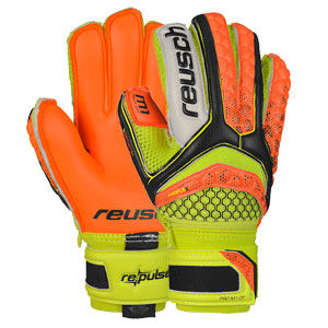 Reusch Pulse Pro M1 Ortho-Tec Jr - Black/Orange 3672101