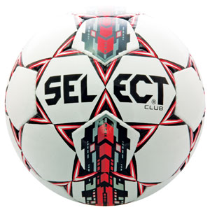 Select Club Ball - White/Red 02-559-856