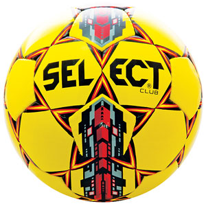 Select Club Ball - Yellow/Red 02-559-852