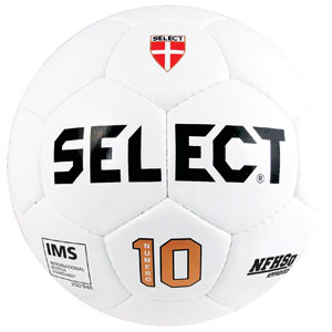 Select Numero 10 NFHS Ball IMS - NFHS Approved - All White 027x00